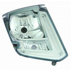Proiettore (H4-Led) predisposto per correttore elettrico Tipo Vakeo DX