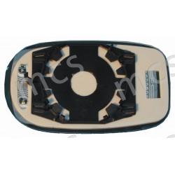 Piastra con specchio curvo azzurrato termico DX