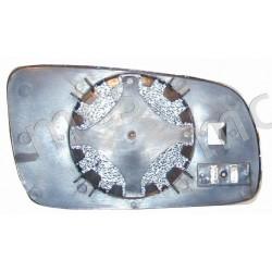 Piastra con specchio asferico azzurrato termico grande SX