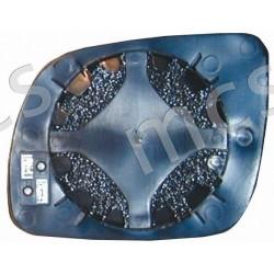 Piastra con specchio curvo azzurrato termico piccola DX