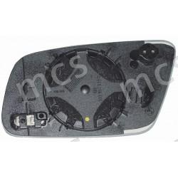 Piastra con specchio curvo azzurrato termico con termostato DX