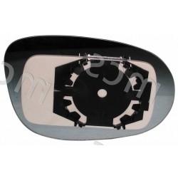 Piastra con specchio asferico azzurrato SX