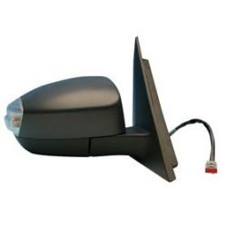 Retrovisore con luce di direzione/cortesia elettrico da verniciare ripiegabile elettricamente specchio curvo termico DX