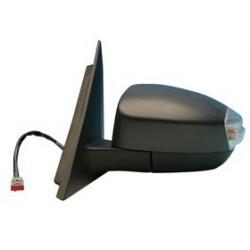 Retrovisore con luce di direzione/cortesia elettrico da verniciare specchio asferico termico SX
