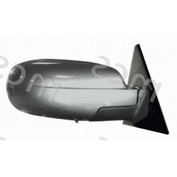 Retrovisore elettrico da verniciare ripiegabile elettricamente specchio asferico azzurrato termico DX