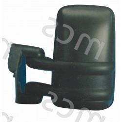 Retrovisore manuale nero specchio curvo SX