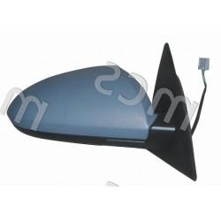 Retrovisore elettrico da verniciare specchio curvo termico DX