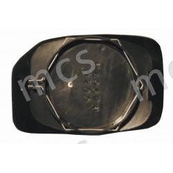 Piastra con specchio curvo solo per retrovisore manuale SX