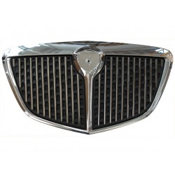 CHROMED FRONT FRAME GRILL + CHROMED VERTICAL STRIPS (VERSION 2007 - PLATINUM) (MUSA 2004--2007)
