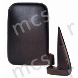 Retrovisore manuale nero specchio curvo DX