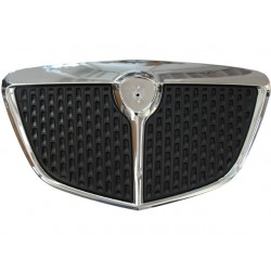 CHROMED FRONT FRAME GRILL+ BLACK INNER GRILL (VERSION 2007) (MUSA 2004--2007)