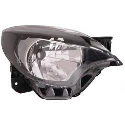 Gruppo ottico fanale anteriore bianco tipo Valeo DX