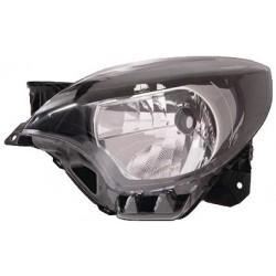 Gruppo ottico fanale anteriore bianco tipo Valeo SX