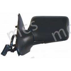 Retrovisore elettrico nero specchio asferico termico SX