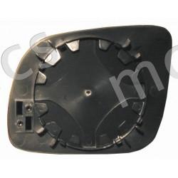 Piastra con specchio curvo termico piccola DX