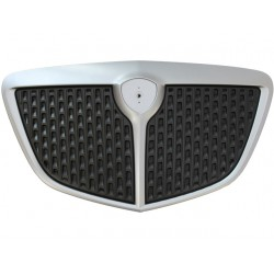 METALLIC GREY PAINTED FRONT FRAME GRILL+ BLACK INNER GRILL (VERSION 2007 - ARGENTO) (MUSA 2004--2007)