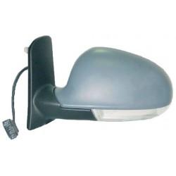 Retrovisore con luce di direzione elettrico da verniciare specchio asferico termico SX