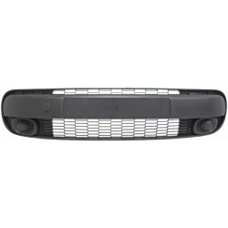 FRONT BUMPER CENTRAL GRILL WITH TOW BAR HOOK COVER