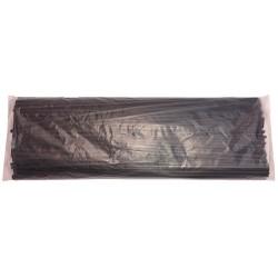"""Savedoors black """" U """" packing 2 pz - mm. 8,5 x mm. 650 (pz. 100)"""