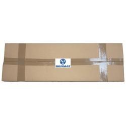 SALVAPORTA AD INCASTRO CON COLLA IN PVC NERO mm. 8,5 X 650 (600 PZ.)